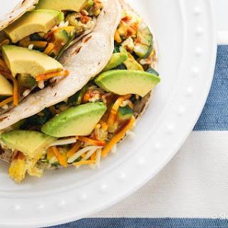 Five Minute Healthy Breakfast Tacos
