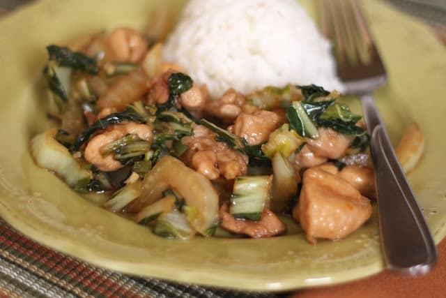 Chicken and Bok Choy Stir Fry Recipe