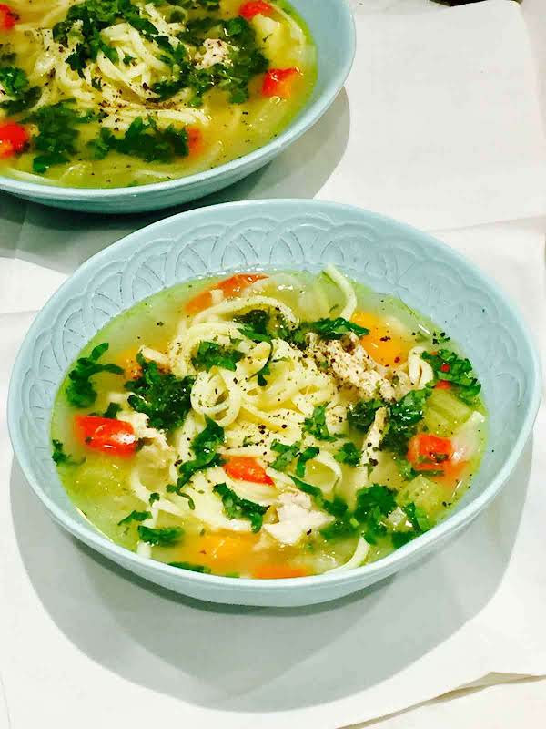 Winter Warming Chicken Soup Recipe