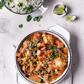 Vegetable Curry with Lime Rice Recipe