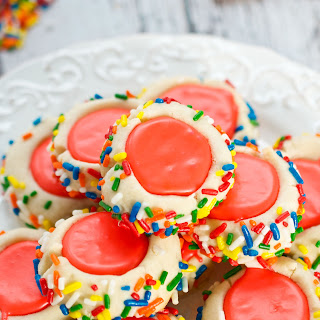 Iced Thumbprint Cookies