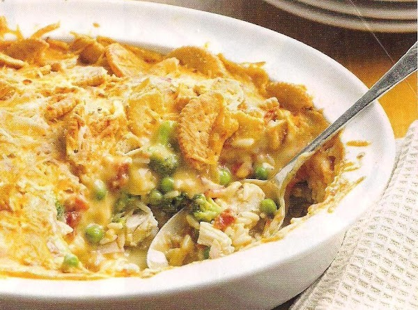 Hot And Cheesy Chicken Casserole Recipe