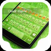 Clover -Love Emoji Keyboard
