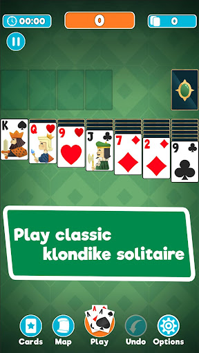 Antique Solitaire - Classic Klondike game