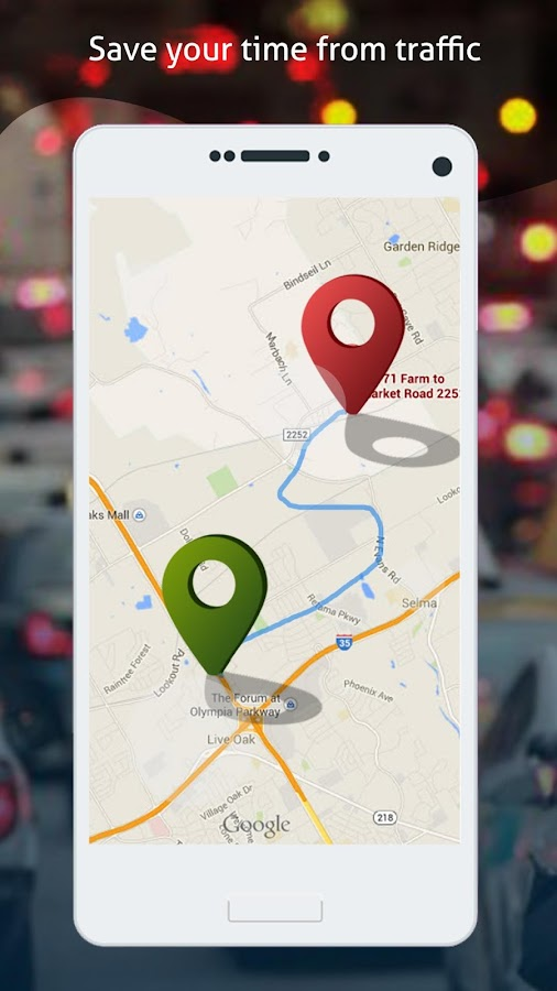GPS Route Finder & Tracker- screenshot