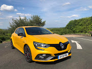 The Renault Megane RS 300 Trophy looks every bit the athletic hot hatch.   Picture: MARK SMYTH