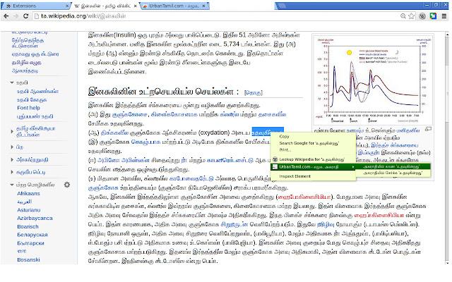 UrbanTamil.com Tamil Dictionary - அகராதி