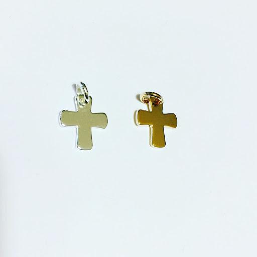 croix argent massif ou plaqué or