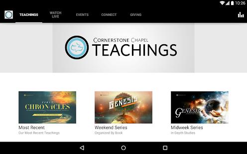 Cornerstone Chapel- screenshot thumbnail