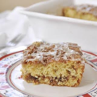 Cinnamon Bun Cake.