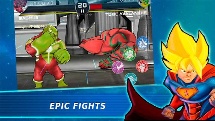 Superheroes 3 Fighting Games screenshot
