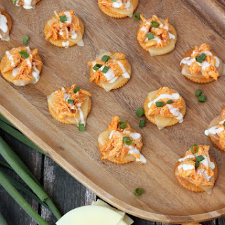 Spicy Buffalo Chicken Crackers