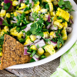 Easy Corn Salsa - Possibly THE BEST Corn Salsa of time..