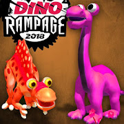Dino T-Rex Bump Crash Rampage Breaker