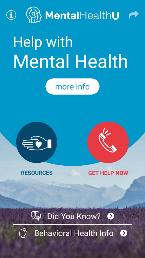 MHU - Mental Health & You- screenshot