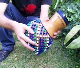 Photo: Shekeré de calabaza tamaño chico