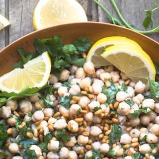 Deconstructed Hummus Salad.