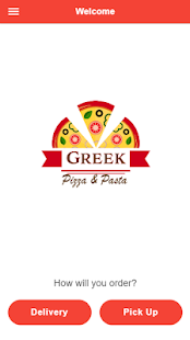 Greek Pizza & Pasta - náhled