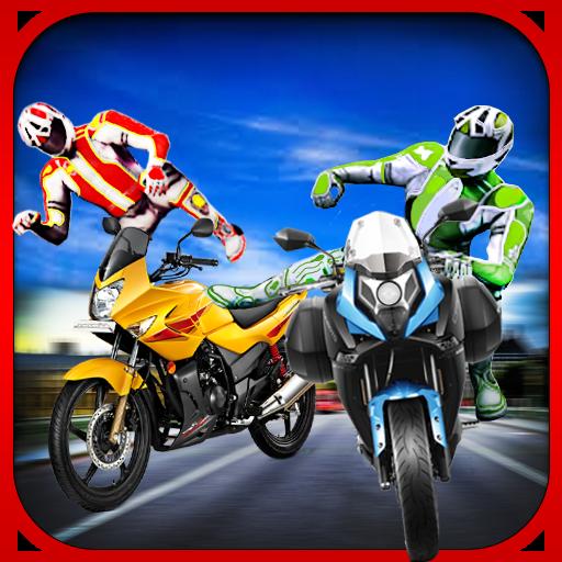 Stunt Rider Bike Attack Race