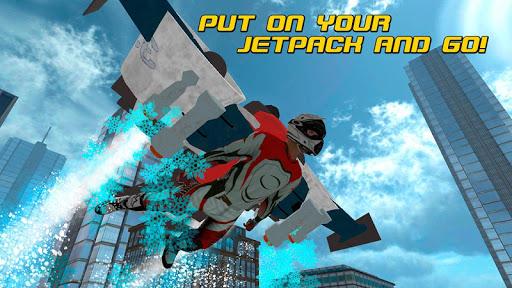 Skydiving Flying Air Race 3D