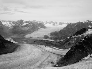 Glacier seen from Peak 4