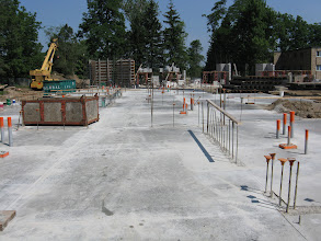 Photo: 1st floor west wing poured July 6, 2012