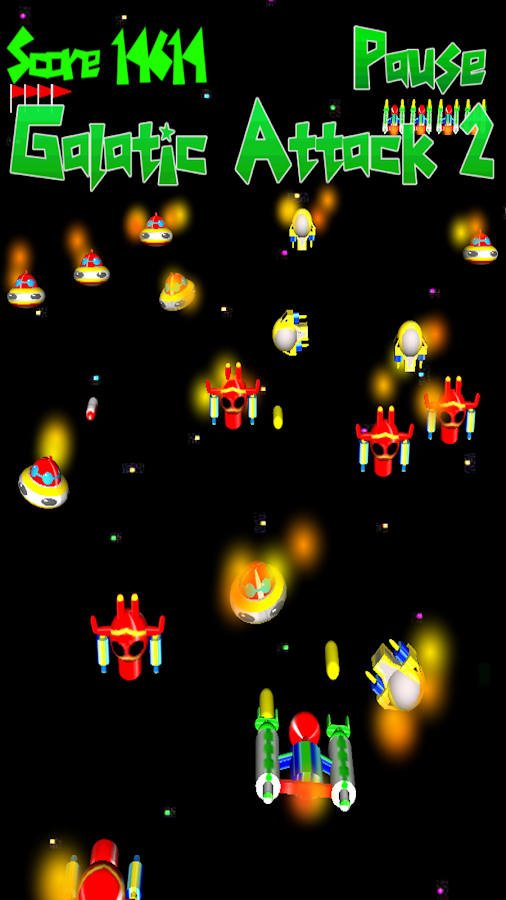 Galactic Attack 2- screenshot