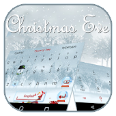 Snow Christmas Keyboard Theme(Christmas Eve) Android APK Download Free By Best Keyboard Theme Design
