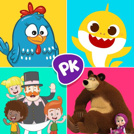 Crianças aprendem ABC, leem livros, assistem desenhos. Diversão que ensina!