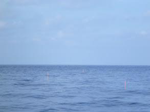 Photo: ベタナギになりました。 潮もゆっくりになりました。