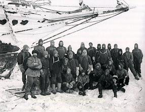 Photo: La tripulacion del Endurance