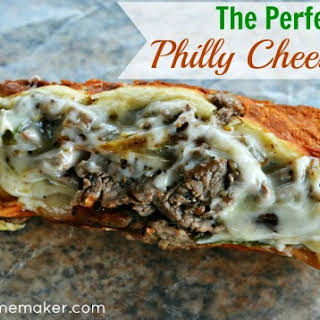 The Perfect Philly Cheesesteak.