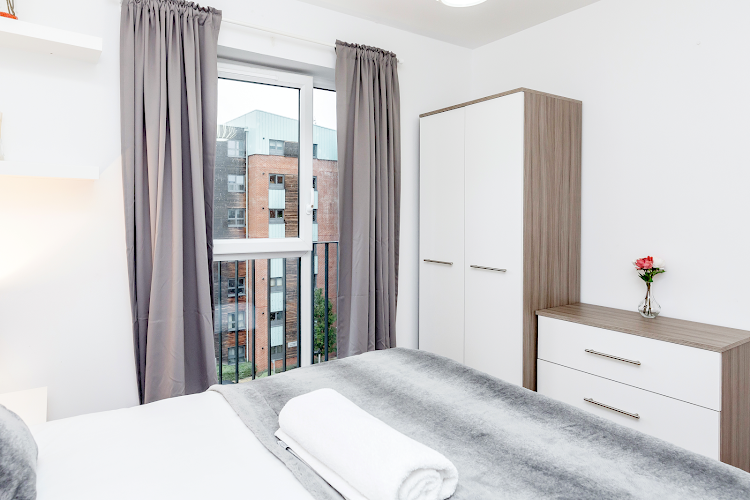 Bedroom at Wave Court - Romford