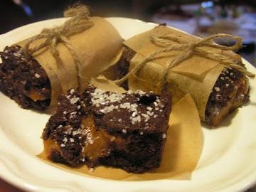 Salted Caramel Brownies Recipe