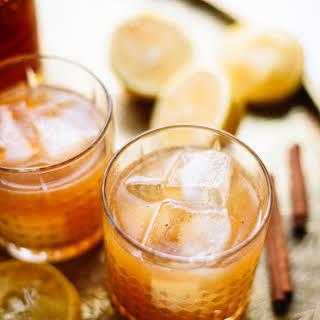 Cinnamon Maple Whiskey Sour.