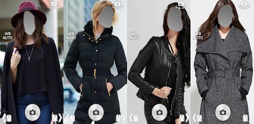 Приложения в Google Play – <b>Girl Winter Coats</b> Fleece <b>Jacket</b> photo ...