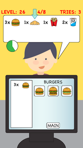 android Burger Cashier Screenshot 2