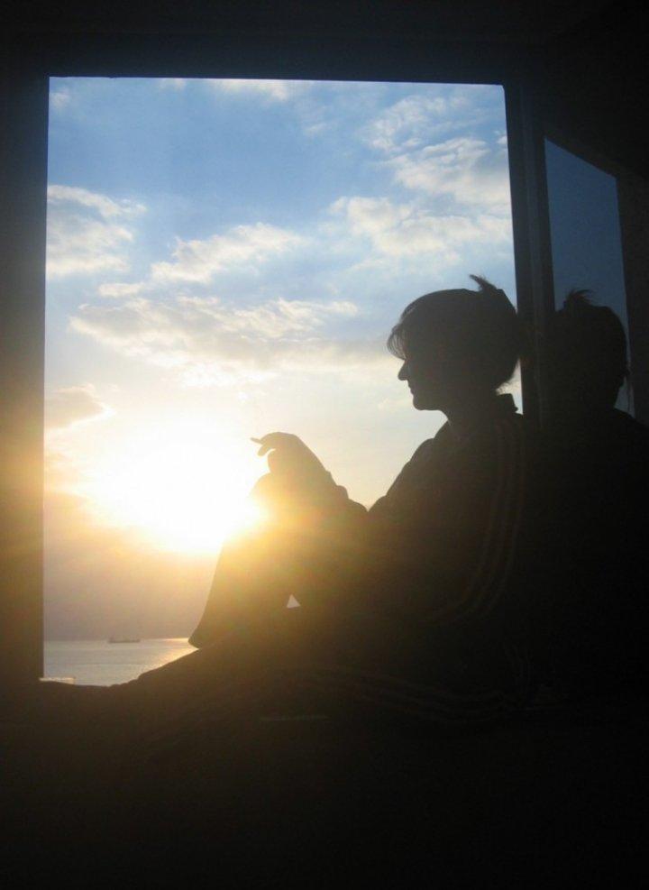 Silenziosamente nell'ombra...penso a te! di Kirghisia