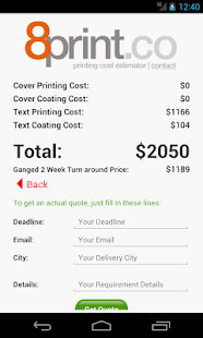Magazine Catalog Printing Cost- screenshot thumbnail