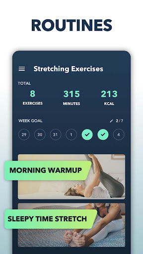 Stretching Exercises at Home -Flexibility Training 1.1.4 Screenshots 2