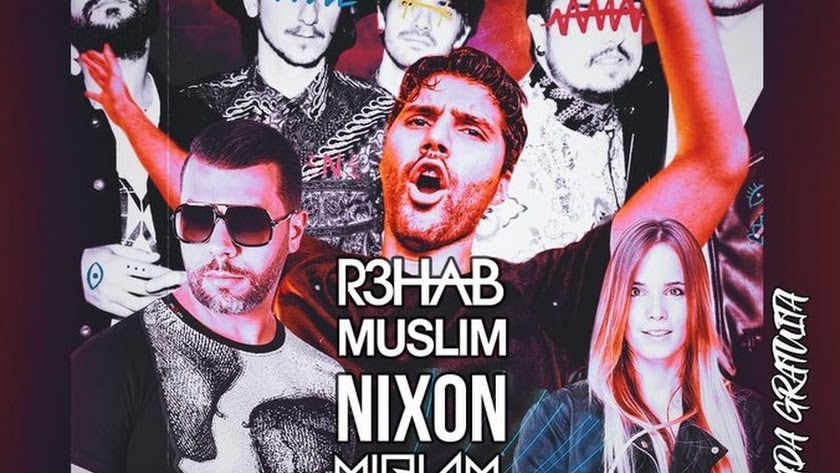 Cartel de la primera edición del Rozam Music Festival.