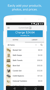 Square Point of Sale - POS- screenshot thumbnail