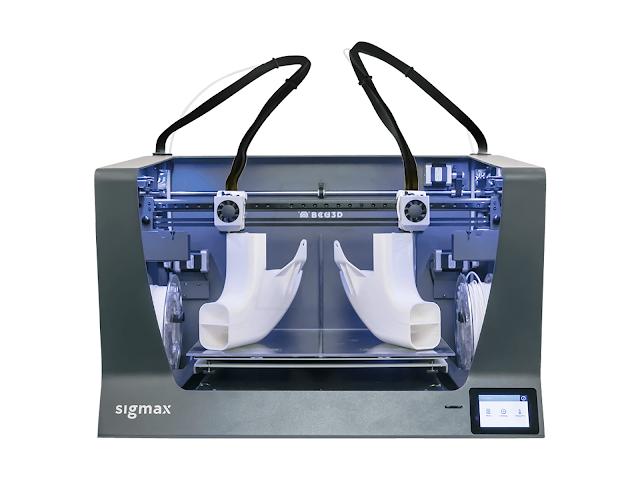 CLEARANCE - BCN3D Sigmax R19 Independent Dual Extrusion 3D Printer