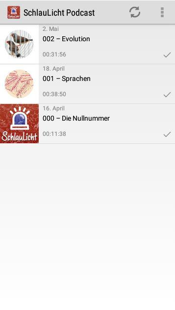 SchlauLicht Podcast – Screenshot
