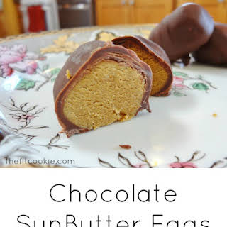 Chocolate-Dipped Sunbutter Easter Eggs.