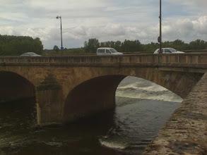Photo: Brückenwehr Nevers