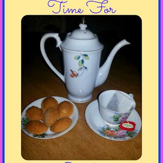 Honey-Almond Mini-Madeleines Cookies.
