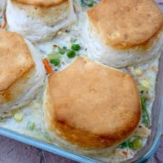 Mom's Chicken & Biscuit Pot Pie.