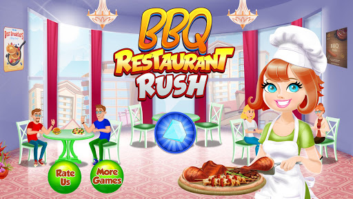 BBQ Restaurant Rush: Grill Food Cooking Stand android2mod screenshots 3
