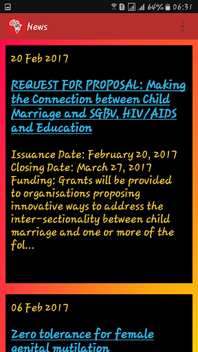 Sex Rights Africa Network  screenshots 2